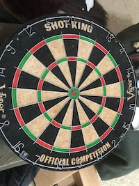 black, white, and green dartboard Dumfries, 22026