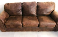 brown suede 3-seat sofa Santa Monica, 90403