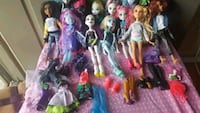 assorted Monster High doll collection Chandler, 85225
