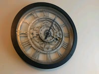 round black and gray analog wall clock Sterling, 20166