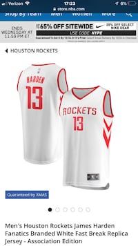 New Harden jersey XL Beaverton, 97078