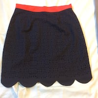 Navy and red fun skirt  Alexandria, 22307