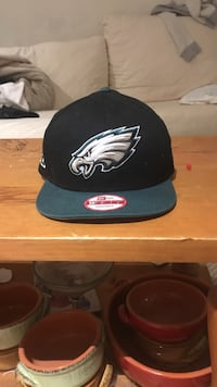 black Philadelphia Eagles 9Fifty flat brim cap Burlington, L7M 1M4
