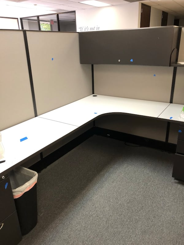 Office cubicles and cubicle parts 1