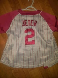 New York Yankees Derek Jeter women's baseball Jersey