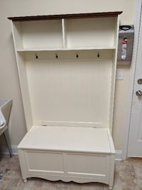 Entry Bench / Hall Tree / Mud Room / Storage Bench Coat Hanger