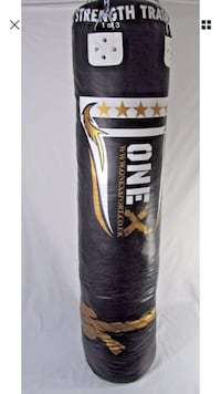Brand new 5ft black punching bag