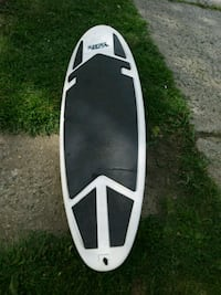 white and black surf board Independence, 64052