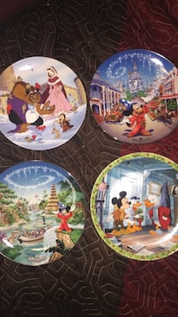 Limited edition authentic Walt Disney plates with certificates Boston, 02126