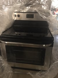 Black and gray induction range oven Frederick, 21703