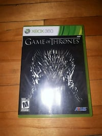 Game of thrones on Xbox 360 Montréal, H8P 2N8
