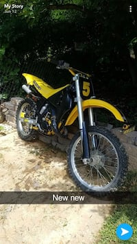 yellow and black motocross dirt bike Washington, 20001
