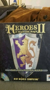 Heroes of Might and Magic II PC game Manassas