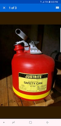Just Right 2.5 Gallon Non-metallic Safety Can Carlstadt, 07072