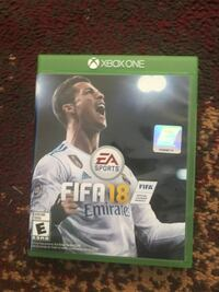 FIFA 18 xbox one game Sterling, 20164