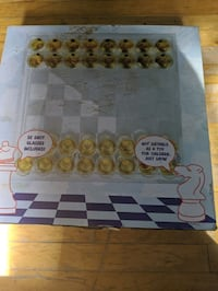 Shot glass chess set Montreal, H8R 2L9