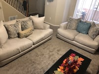 Sofa set & picture (decorative pillows included) Colorado Springs, 80909