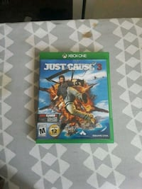 Just Cause 3 Xbox One game case Colorado Springs, 80907