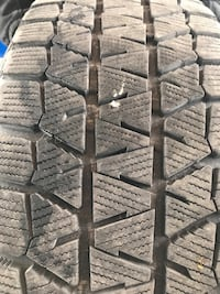 Four new Bridgestone blisaks winter tires and rims  225/60 R16 Mississauga, L5C 3K6