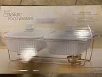 Ceramic food warmer and cups College Park, 20740