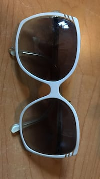 Brown sunglasses with blue frame sunglasses