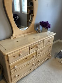 Bedroom Furniture ( Solid Wood)
