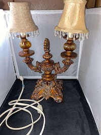 2 headed old lamp