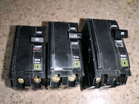 Square D double pole 30A breakers