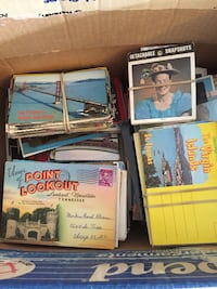 Post cards 50 to 70 years old Orland Park, 60467