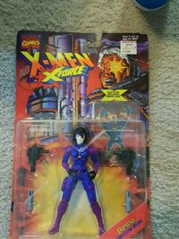 1995 domino x force action figure Beech Grove