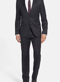 Hugo Boss suite - Aeron/Hamen - Super Black 42R Mississauga, L5L 4L3