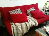 Structube Red Sofa bed Toronto, M6H 4K4