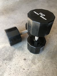 Iron Grip Dumbbells (85lb 110lbs)