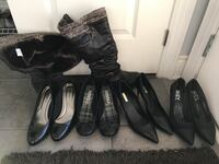 Variety of EUC shoes and boots size 9/12 and 10 Brampton, L6V 5G2