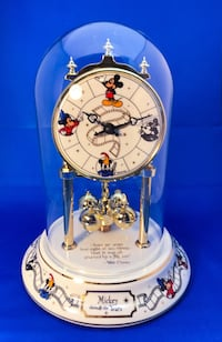 Disney Mickey Mouse mantle through the years collectible clock Mount Prospect, 60056