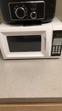 white and black microwave oven Lawrenceville, 30044