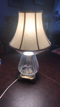 Lamp crystal bulb shaped as a Tulip Mint condition Toronto, M8Y 1N6