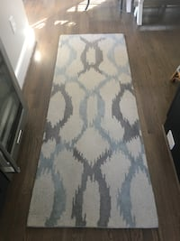 West Elm Ikat Runner 2.5 x 7 22 mi