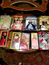 9 Brand New Collector's Barbies Brampton, L6Z 1W4