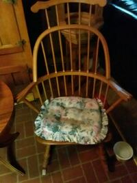 white and brown wooden armchair Nashville, 37214