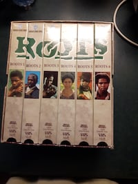 VHS Roots Complete series-$2.00