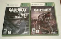 Xbox 360 Call of Duty Video Games Port Coquitlam, V3B 7G7