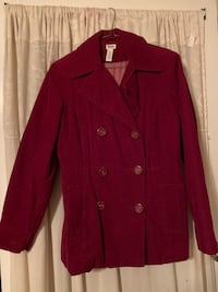 Red button-up jacket Size S Lynn, 01905