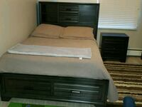Full size bed with chest and nightstand Hickory Hills, 60457