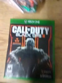 Xbox One Call of Duty Black Ops 3 game case Chicago, 60632