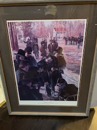 "Don Stivers framed print ""To Make Hell Tremble"" MONTGOMERYVILLAGE"