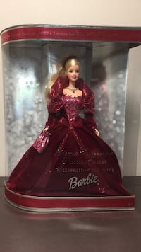 Special edition holiday 2002 barbie doll in box null, L2G
