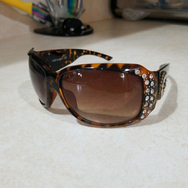 7aa33b19be Used Solaray A-STAR-V 1458-A Rhyme stones Sunglasses am for sale in ...