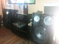 black and gray home theater system Woodbridge, 22191