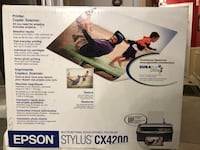 Epson Stylus CX4200 inkjet printer. Barely used Whitchurch-Stouffville, L4A 0W1